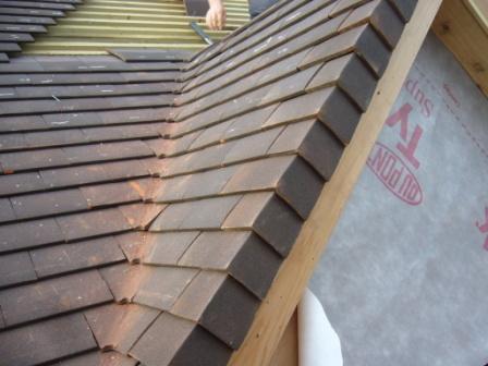 Durable Dry Verge Detail For Plain Tiles C O Tony